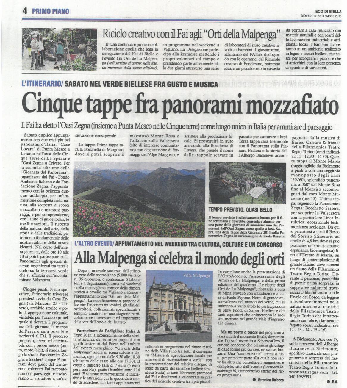 Gli Orti de La Malpenga - Rassegna stampa 81b738847be